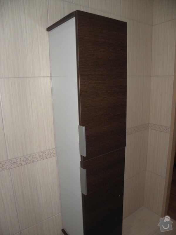 Rekonstrukce bytového jádra, výroba kuchyňské linky: P6287245