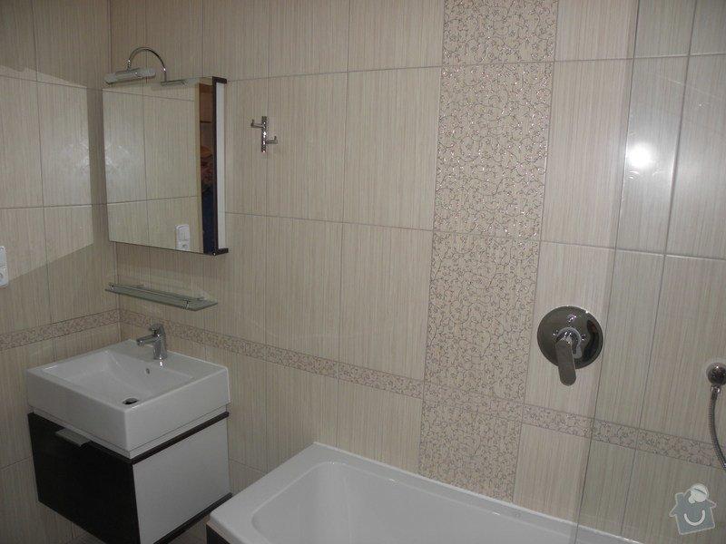 Rekonstrukce bytového jádra, výroba kuchyňské linky: P6287247