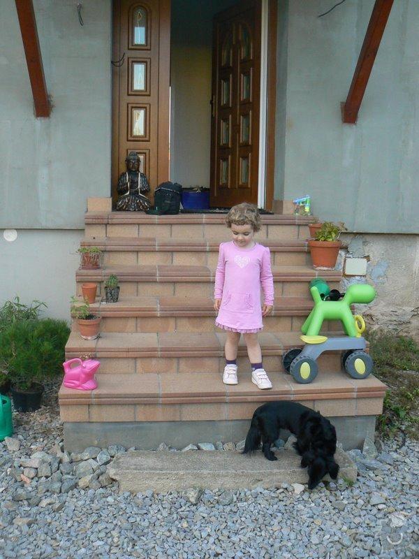 Instalace zabradli na venkovni schodiste: P1030062
