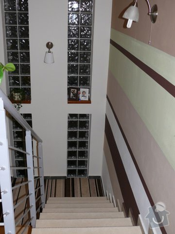 Pokládka koberce na schody: P1130356