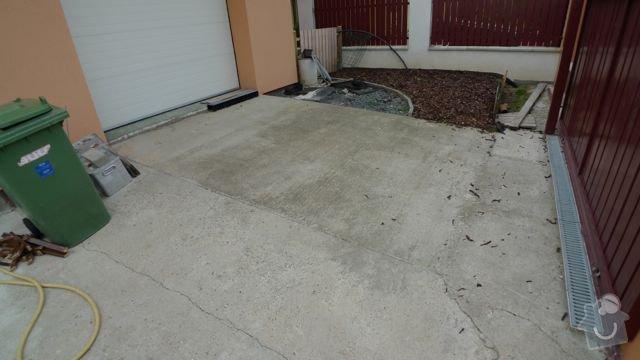 Renovace a pokládka dlažby na dvůr a okolní plochy RD: P1020447