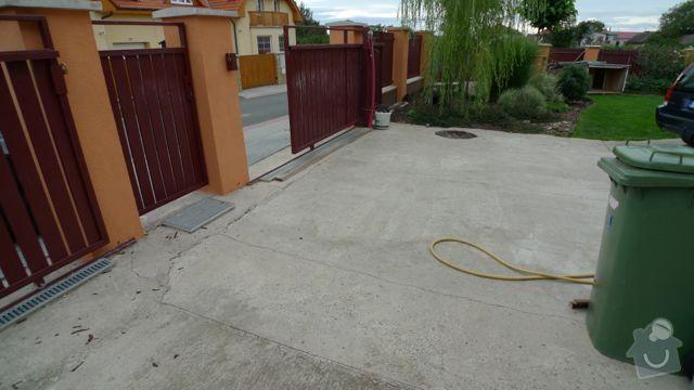Renovace a pokládka dlažby na dvůr a okolní plochy RD: P1020450