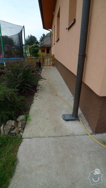 Renovace a pokládka dlažby na dvůr a okolní plochy RD: P1020458