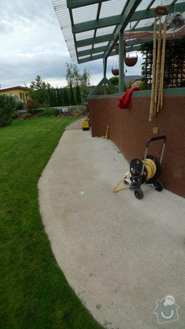 Renovace a pokládka dlažby na dvůr a okolní plochy RD: P1020463