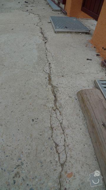 Renovace a pokládka dlažby na dvůr a okolní plochy RD: P1020478