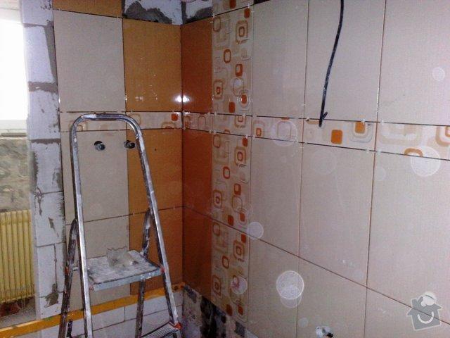 Rekonstrukce koupelny,kuchyně v RD: 110420111170