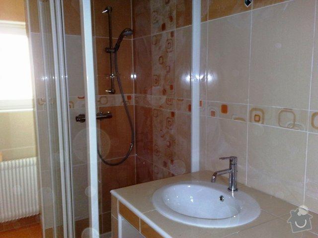 Rekonstrukce koupelny,kuchyně v RD: 280420111202