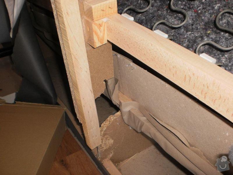 Oprava propadlé kostry gauče: P8240088_1