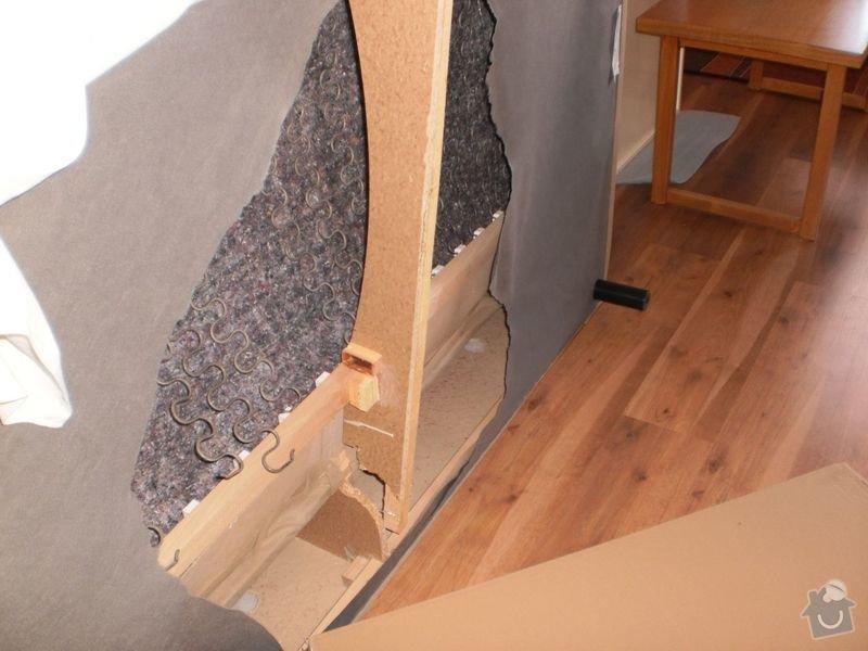 Oprava propadlé kostry gauče: P8240091_1