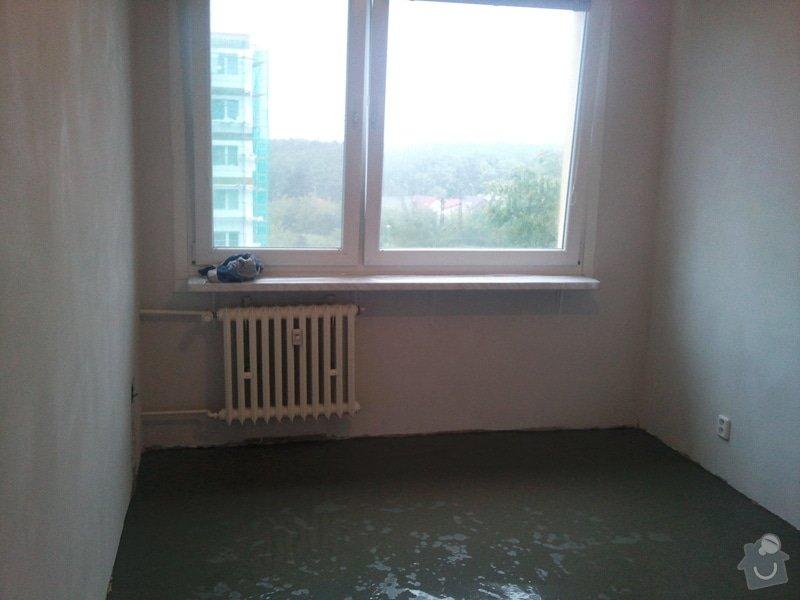 Vyrovnání podlahy nivelační hmotou 1 pokoj : Fotografie065