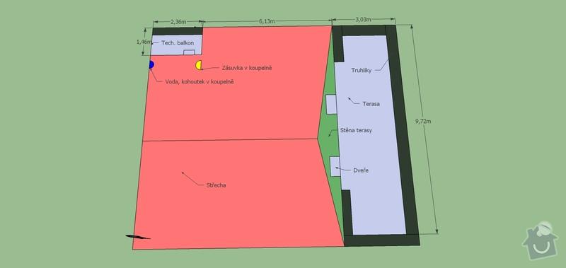 Závlahový systém na terasu: Zavlaha_Vamberska