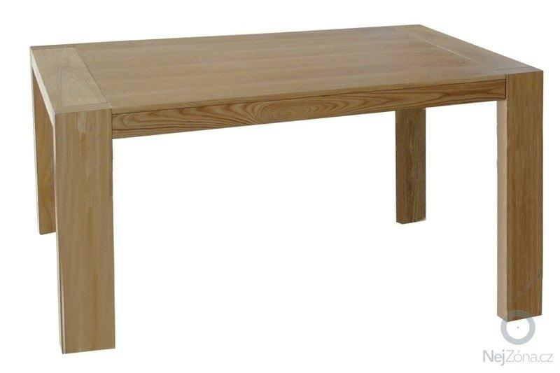 Výroba dřevěného jídelního stolu: stul_borovice