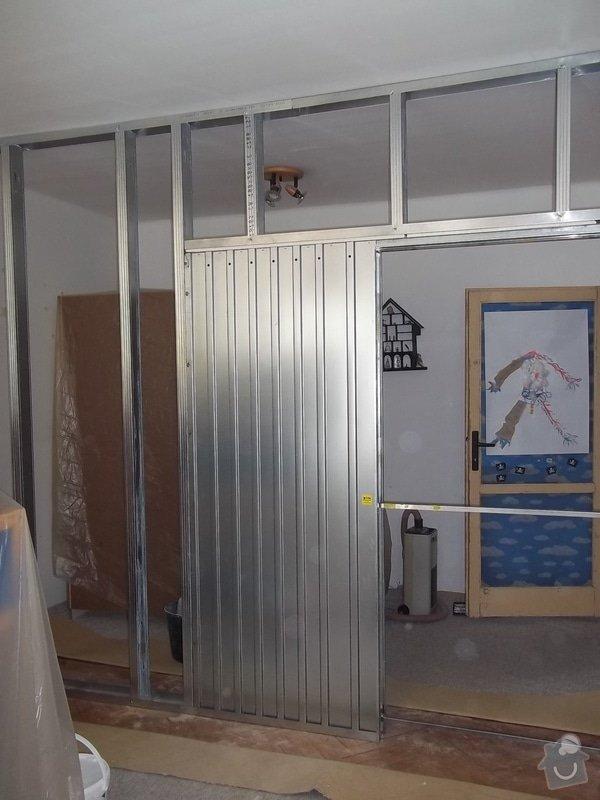 Příčka se zašupovacími dveřmi: 104_0456