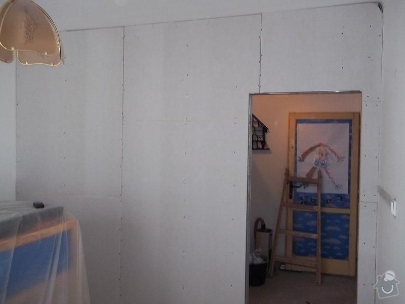 Příčka se zašupovacími dveřmi: 104_0460