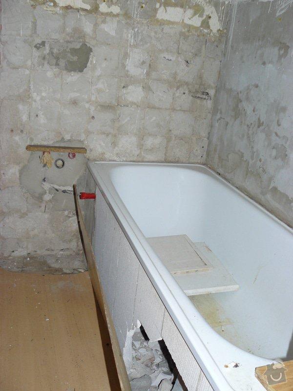 Rekonstrukce bytu 1+1 v HK: P1070791