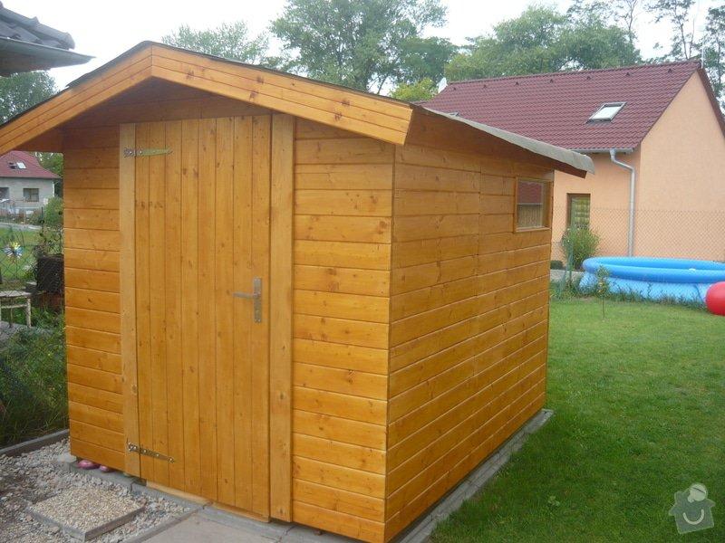 Oplechování střechy domku na nářadí : P1010837