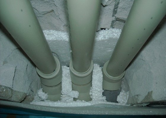 Rozvody vody, kanalizace, podlahové topení