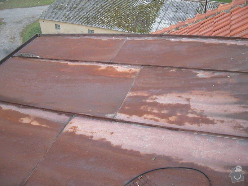 Nátěr plechové střechy: strecha