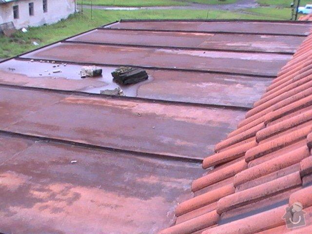 Nátěr plechové střechy: strecha2