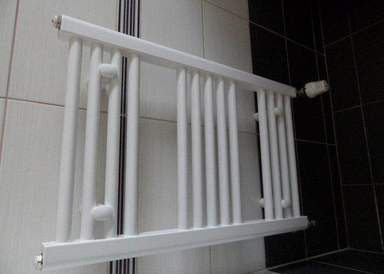 Instalace žebříku a výměna topení