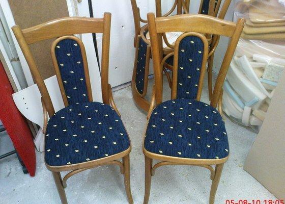 Oprava čalouněných židlí