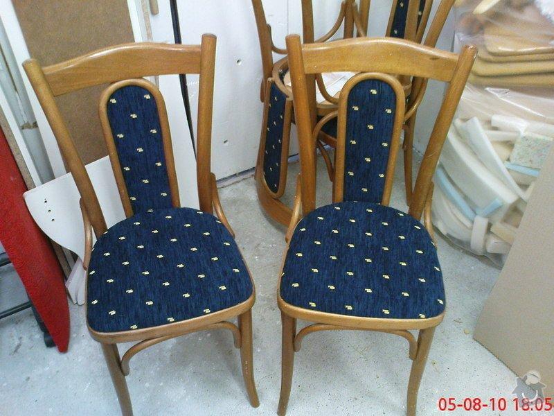 Oprava čalouněných židlí: DSC01680