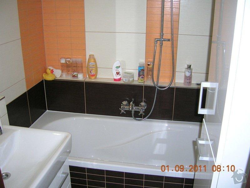 Rekonstrukce koupelny, WC a kuchyně: DSCN4132