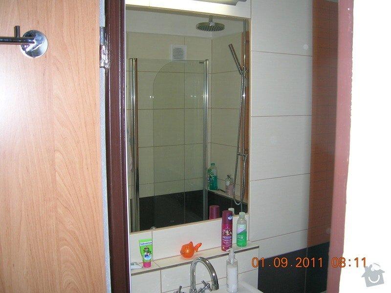 Rekonstrukce koupelny, WC a kuchyně: DSCN4133