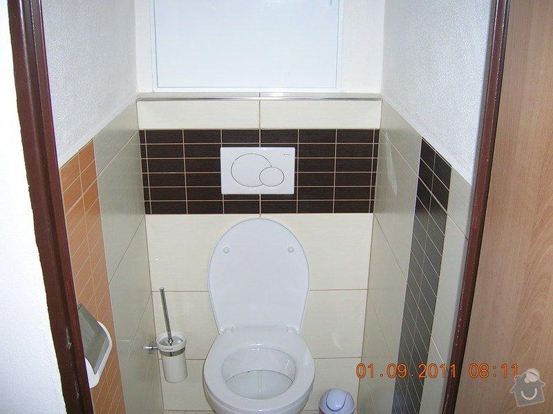 Rekonstrukce koupelny, WC a kuchyně: DSCN4134