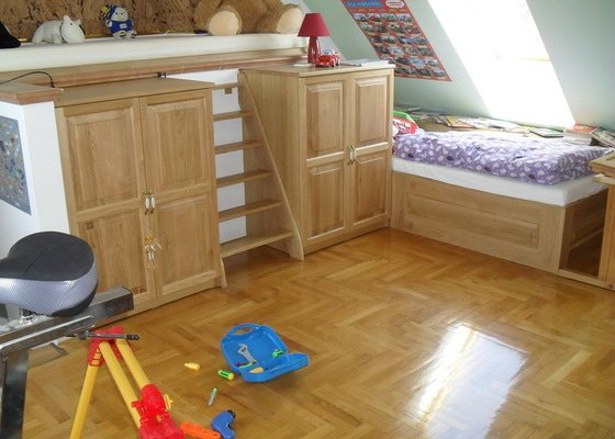 Výroba nábytku s rekonstrukce karavanu