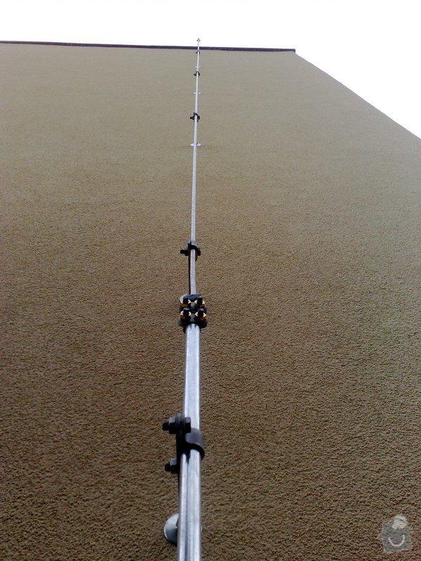 Montáž nového HROMOSVODU + zemnicí síť + revize: 01092011836
