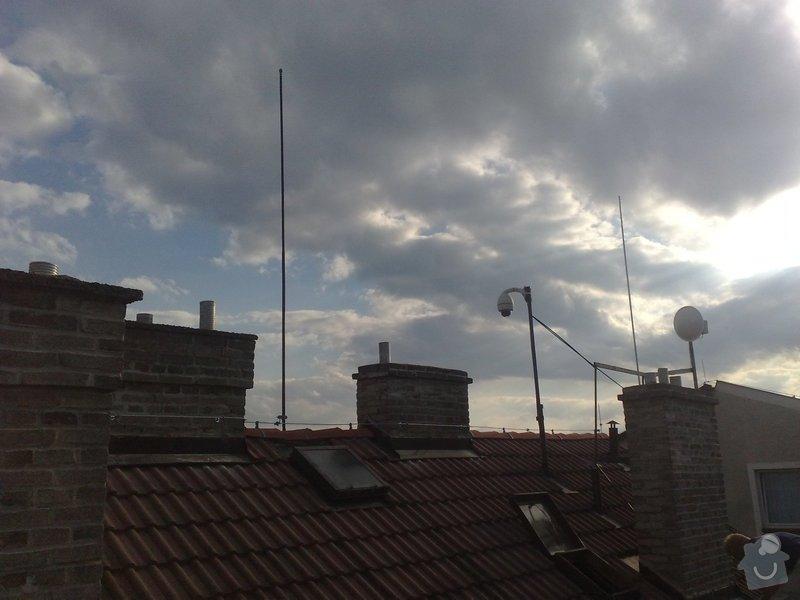 Montáž nového HROMOSVODU + zemnicí síť + revize: 31082011824