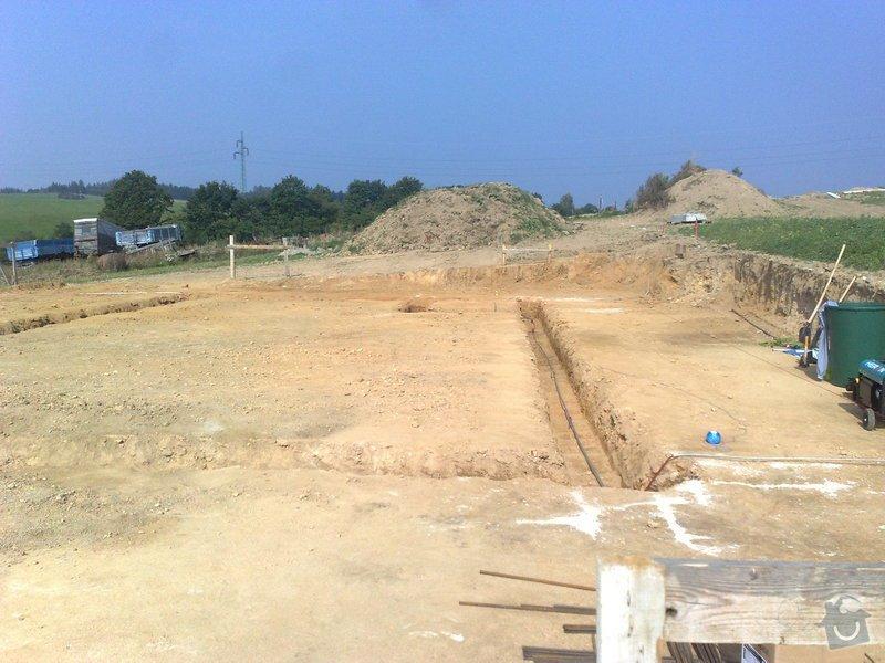 Montáž zemnicí sítě do základu RD: 02092011841