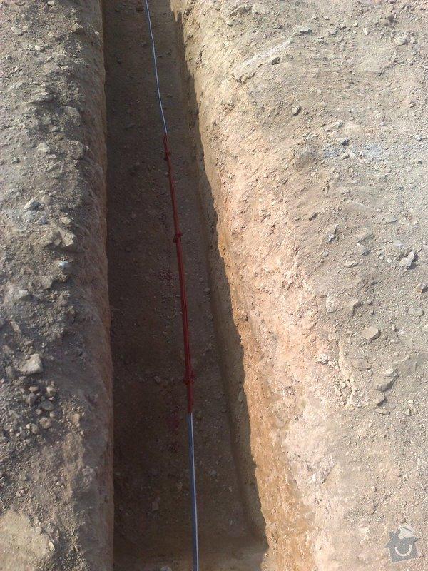 Montáž zemnicí sítě do základu RD: 02092011844
