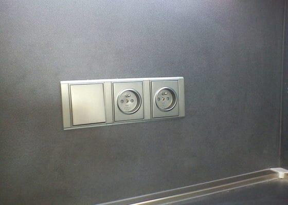 Úprava stávajících elektrorozvodů v bytě