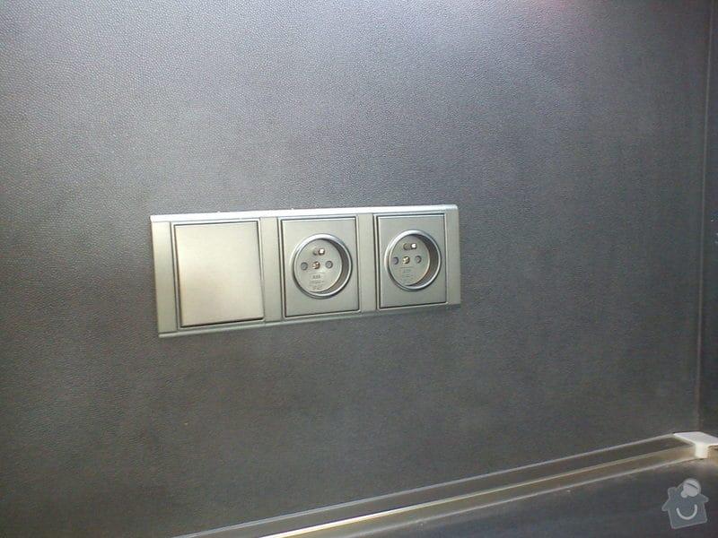 Úprava stávajících elektrorozvodů v bytě: DSC00480