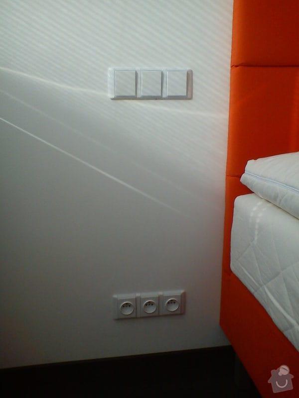 Úprava stávajících elektrorozvodů v bytě: DSC00477