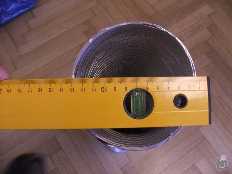 Instalace digestoře a oprava omítky v interiéru.: DSCF3813