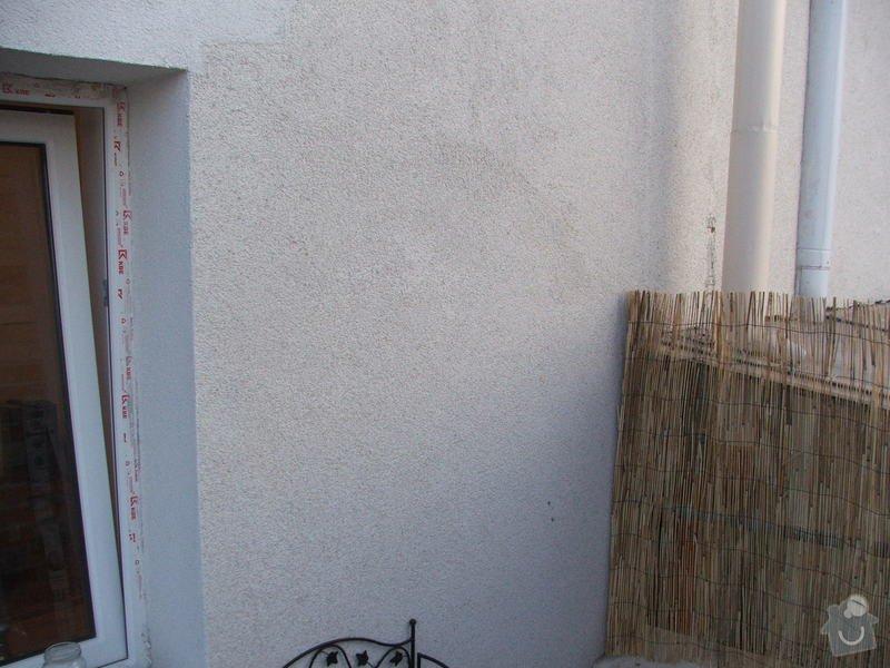 Instalace digestoře a oprava omítky v interiéru.: DSCF3814