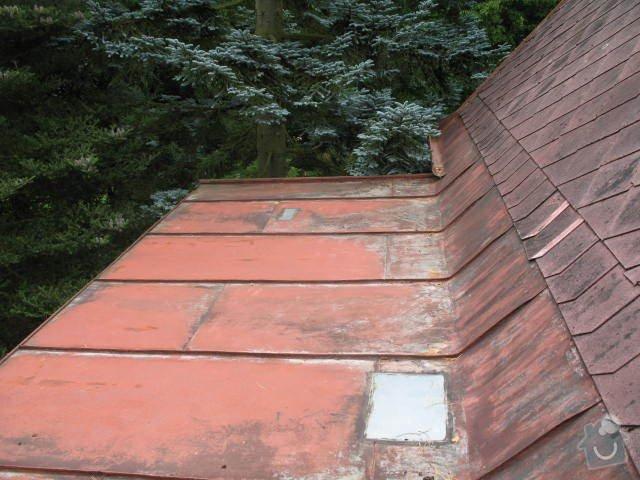 Výměna skládané střešní krytiny z šablon : IMG_7742
