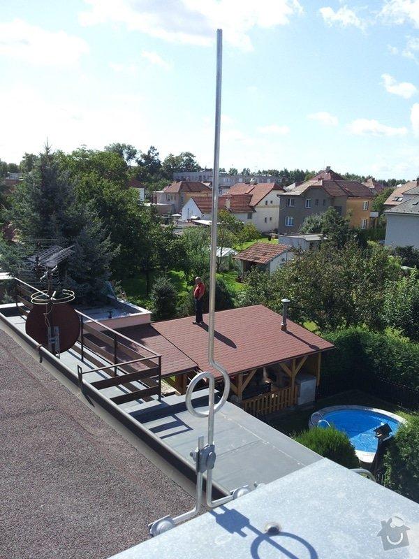 Instalace hromosvoudu R.Cipra, Lázně Bohdaneč: 2011-09-06_11.24.52