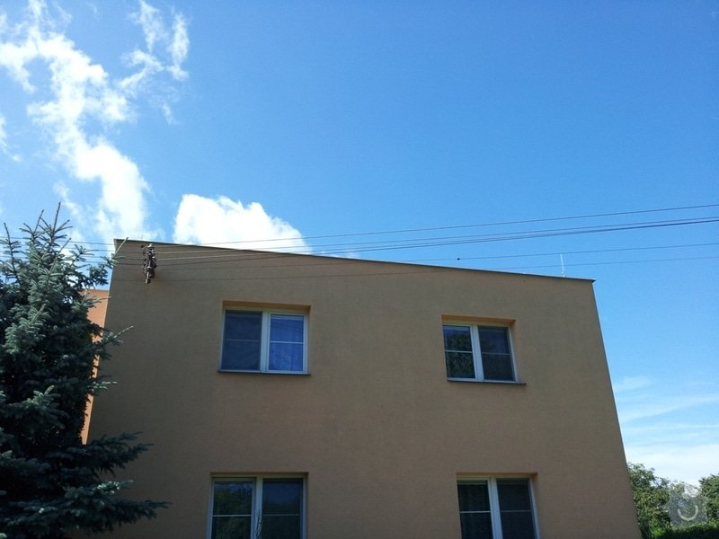 Instalace hromosvoudu R.Cipra, Lázně Bohdaneč: 2011-09-06_11.29.37