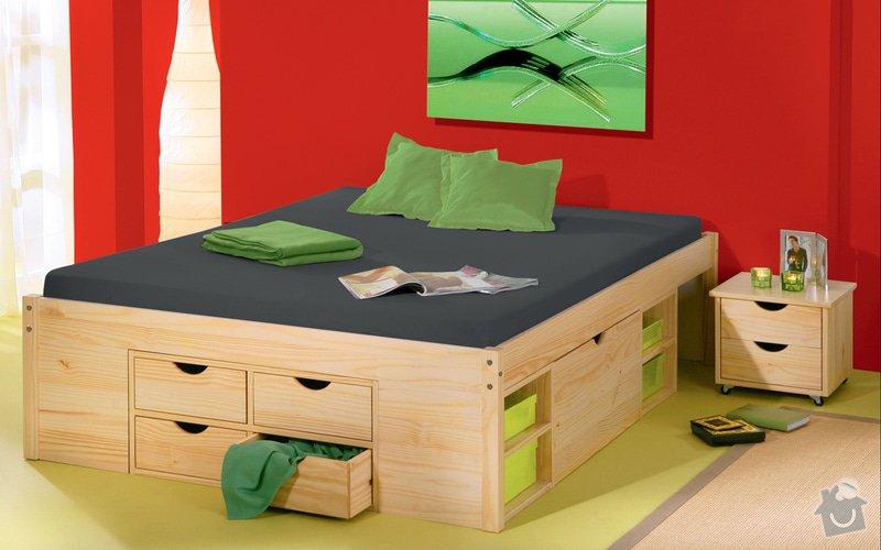 Manzelskou postel: postel