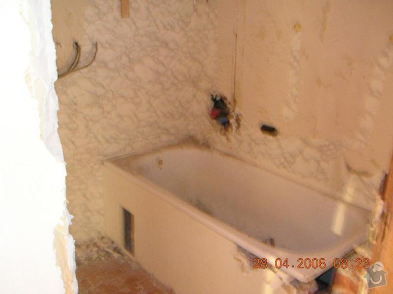 Rekonstrukce koupelny: DSCN2629