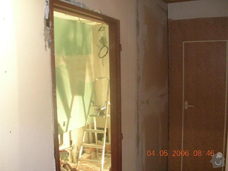 Rekonstrukce koupelny: DSCN2665