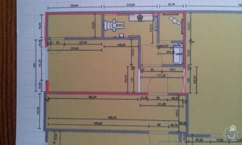 Renovace koupelny a kuchyně: miry