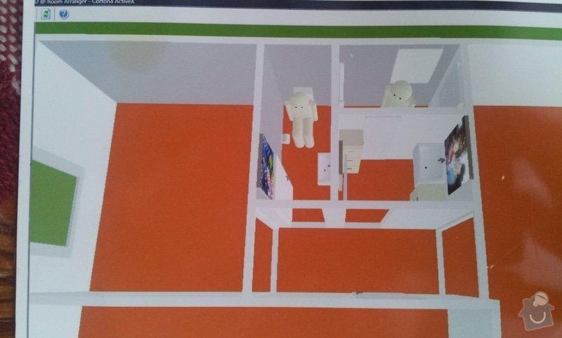Renovace koupelny a kuchyně: nahled