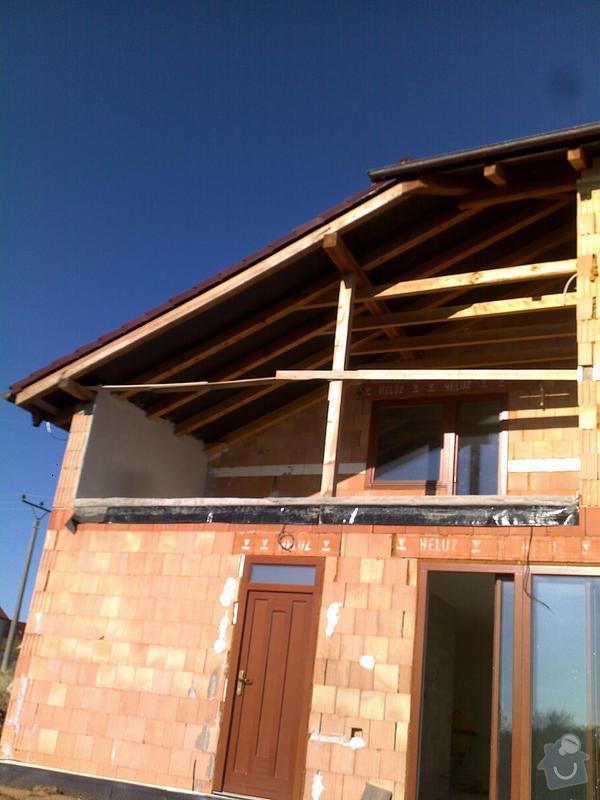 Podbití střechy: 07092011051