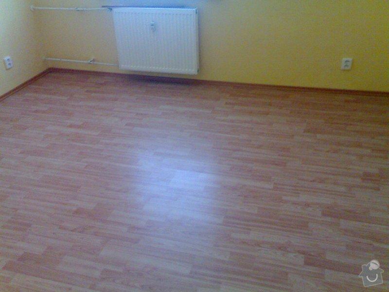 Položení plovoucí podlahy: 010820111012