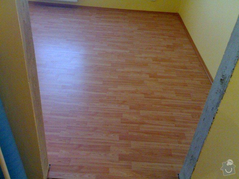 Položení plovoucí podlahy: 010820111013